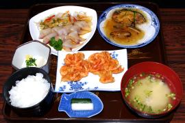 おまかせ定食B(カルパッチョ) 1,000円
